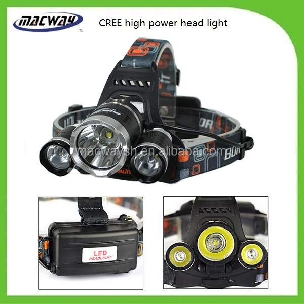 Factory Wholesale Most Powerful Led Hunting Light Aluminum head lights
