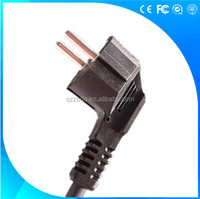 3 pin VDE European standard power cable cord