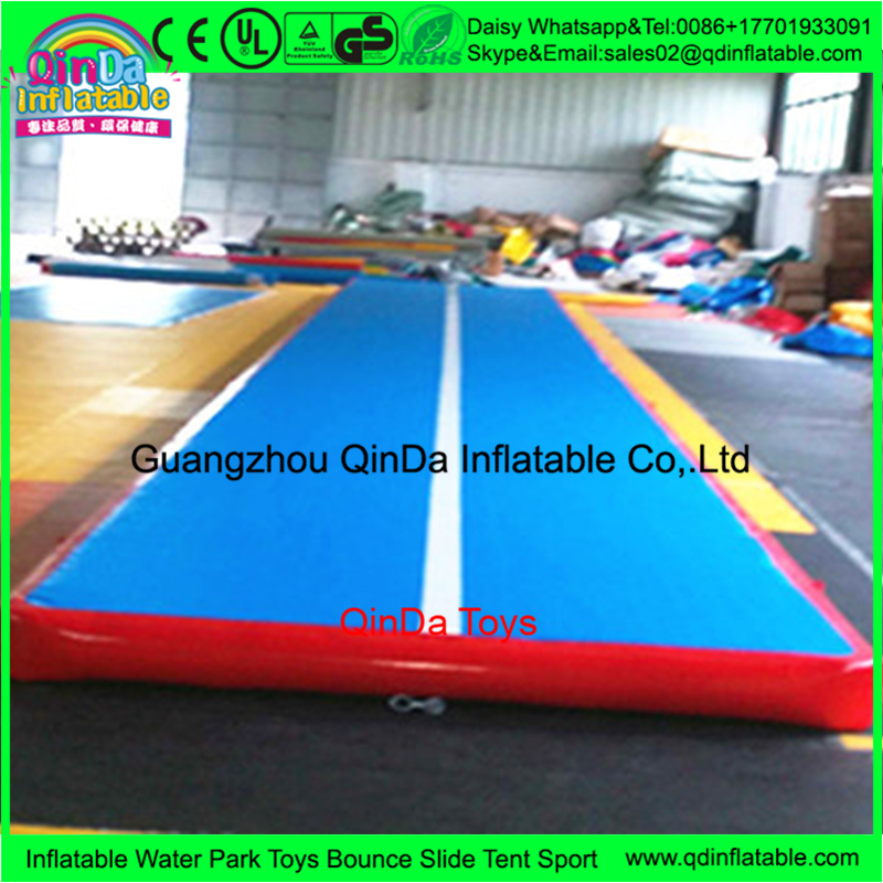 customized color and size inflatable gymnastic mats inflatable gymnastics air floor buy. Black Bedroom Furniture Sets. Home Design Ideas