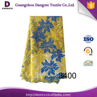 2016 Dangote african tulle lace/african style french lace/embroidered tulle lace fabric 3400