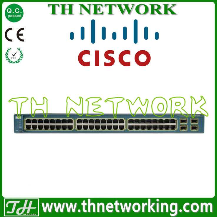 Original new Cisco Catalyst 3560 Series 10/100/1000 Workgroup Switches WS-C3560G-48TS-S