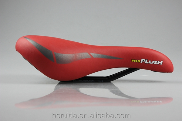 Hot Sale Comfortable soft Colorful MTB Bicycle Saddle in Red Color