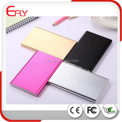 3000mah/4000mah/5000mah/6000mah Thin Mobile Power bank cheap price, Aluminum Portable Charger for Mobile