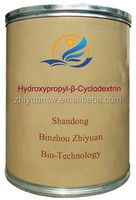 Binzhou Zhiyuan HYDROXYPROPYL BETADEX USP38 EP7.0 hpbcd HPBCD hydroxypropyl beta cyclodextrin in food medicine cosmetic field