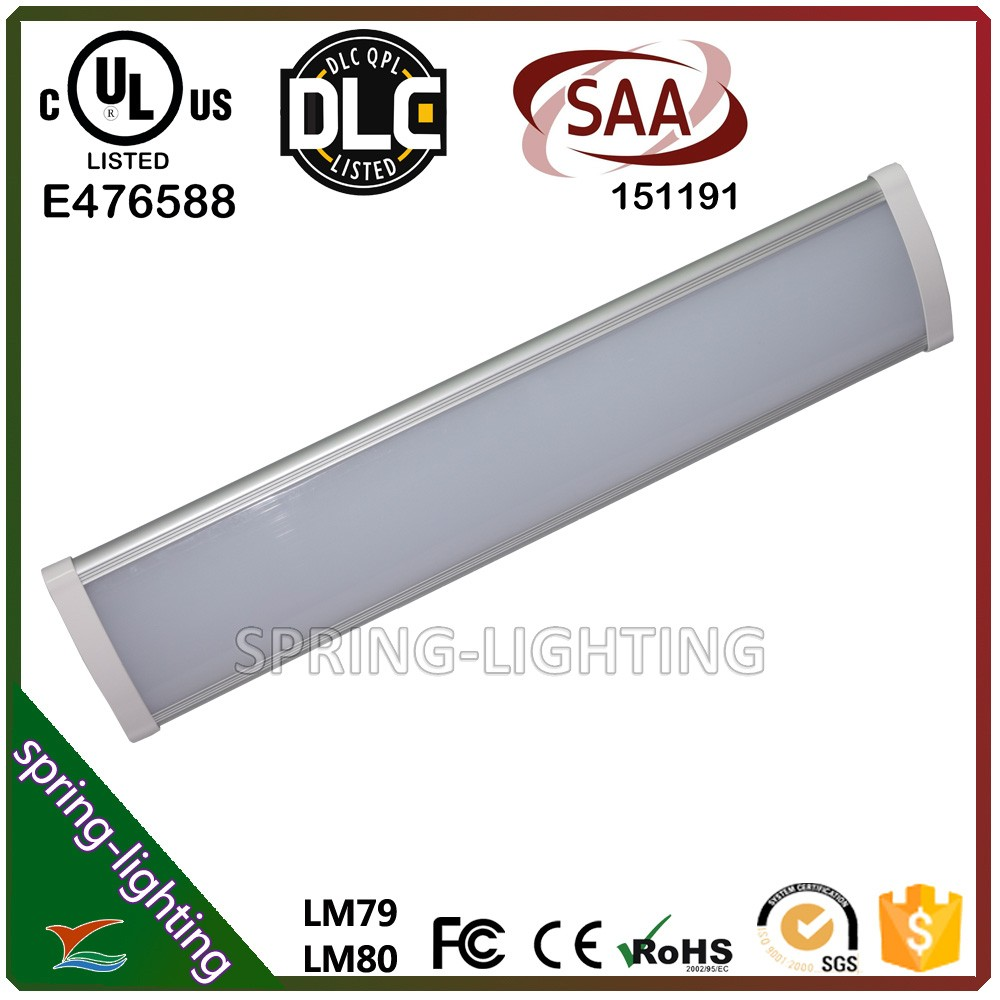 UL DLC SAA CE Rohs hot sale led high bay linear light fixture with 5 years warranty