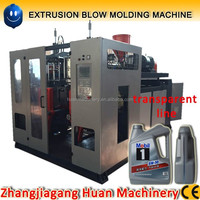 Good price lubricating oil bottle/ jerry can extrusion blow moulding machine