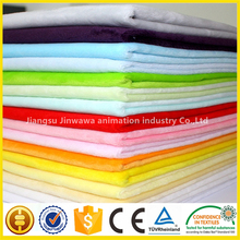 Polyester warp knitting upholstery plush fabric for Home textile/toy/garment warp knitting wholesale price