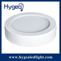 2014 newest design ,6W 12W 15W 18W 24W round/square surface mounted led panel light