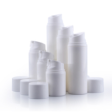 30ml 50ml 80ml 100ml 120ml 150ml White PP Airless Pump Bottles for Cosmetic, 1oz 2oz 3oz 4oz 5oz Airless Bottles