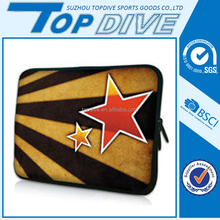 Customized packaging neoprene soft shockproof laptop sleeve for sale