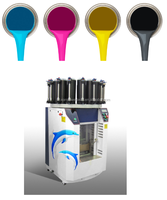 integrated paint machine combining manual color mixer and automatic clamping paints colorant mixing unit to make whole solutions