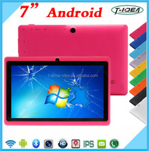 Allwinner A33 Quad Core Tablet Pc 7 Inch 1024*600 Touch Screen Tablet With Dual Camera