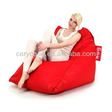 Hug Beanbag Triangle Relaxative Sofa Couch Seat Red : Living Room Furniture