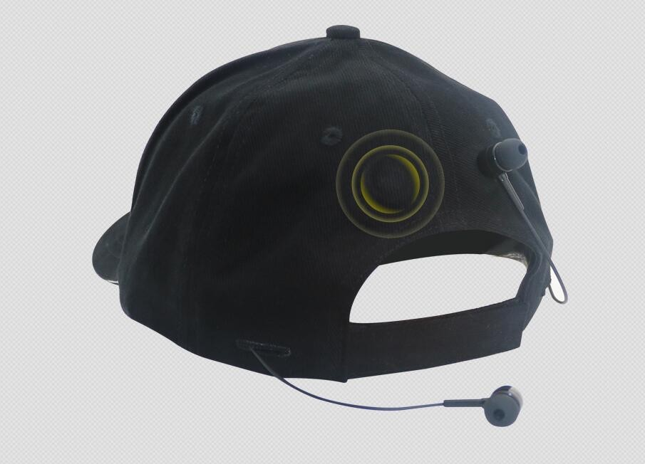 Hot sale Bluetooth baseball cap with earphone and function of listen music
