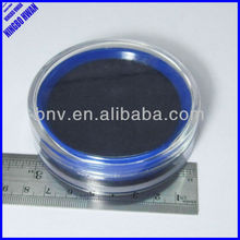High quality transparent one color plastic round stamp pad