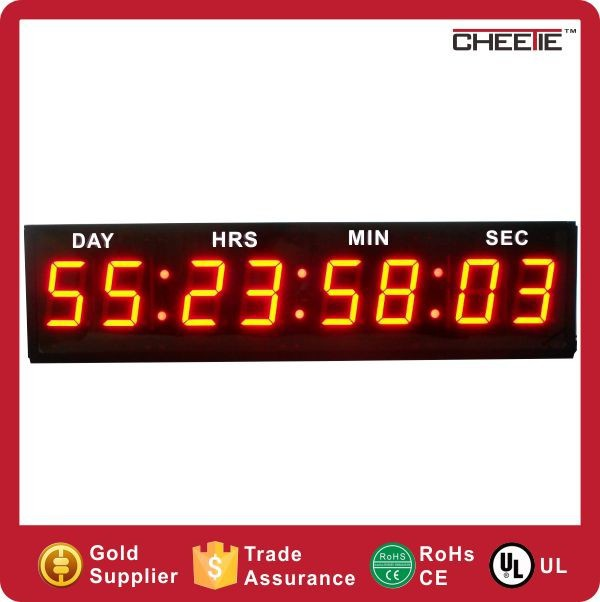 years days hours minutes seconds countdown timer