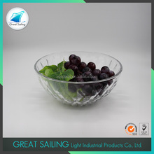 Competitive Price Glass Salad Fruit Bowl Set