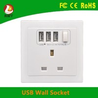 Latest british standard bakelite wall switch socket with ce/fcc/rohs certificate uk 3 pin socket.