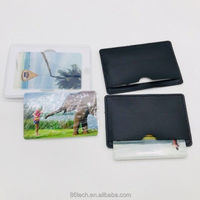 ZYHT Bulk Cheap Ultra Slim Business Card Usb Drive/Credit Card Usb 2.0 Flash Memory H