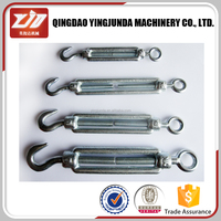 black turnbuckle din 1480 standard wire rope turnbuckle