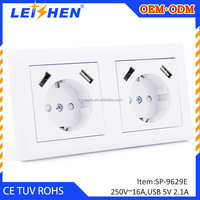 Exceed quality amazing price 220v gfci receptacle lighting duplex receptacle