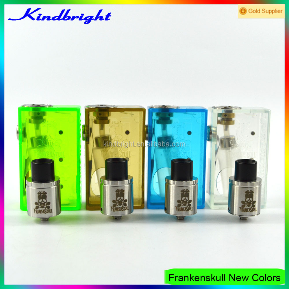 factory price 24mm ABS box mod frankenskull box mod/SVA Kimech box mod/SVA Zero mod in stock for whole now