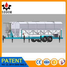 Easy Transportation Bulk Powder Storage Silo,mobile Welded Cement Silo