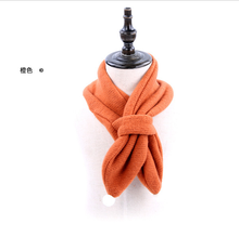 Baby Neck Winter Warm Solid Color Scarf Boy Girl Knitted Scarf
