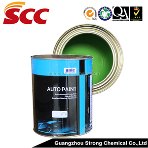 UNIC brand fast and accurate color match 2K paint