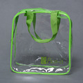 High quality eco friendly transparent PVC cloth packaging bag
