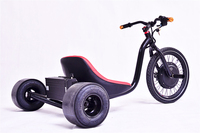 2015 hot sale Front hub width 100mm electric drift trike