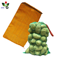 Round Mesh bags for fruit/round bottom plastic bag