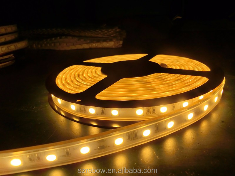 2400k warm white led strip lighting 5050 72led per meter