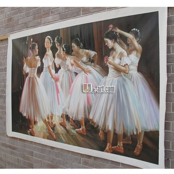 u2art sample ballet dancer oil painting reproductions