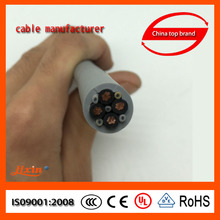 China suppiler different types of three phase 5 core pvc insulated rubber insulated flexible cable