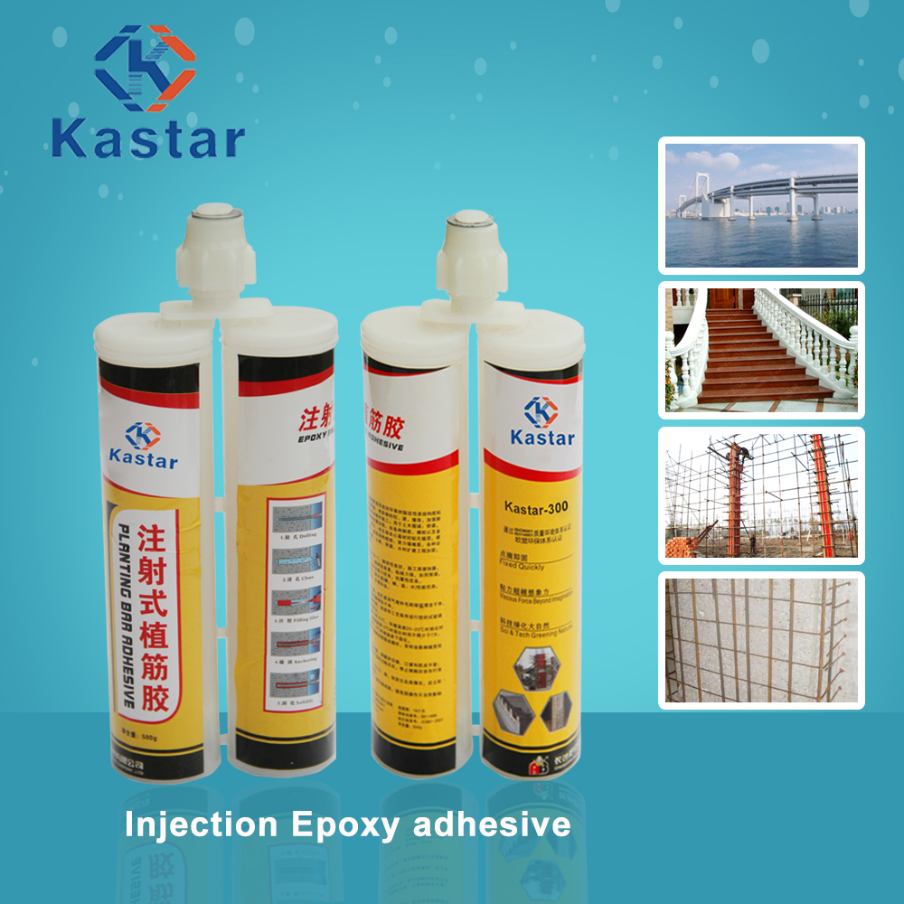 two components 400ml epoxy resin adhesive for anchoring steel bar to concrete