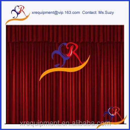 Flame retardant BS5852 theatre curtains and drapery