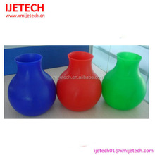 Unbreakable and generous silicone flower vase