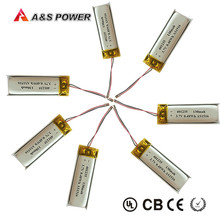 UL Approval Small 3.7v 130mah 501328 Rechargeable Lithium ion Lipo polymer Battery for Bluetooth Headset