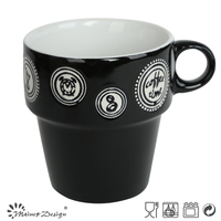 hot selling FDA, certification ceramic stackable coffee mugs