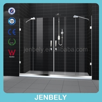 2013 Hot Sell Frameless folding shower screen BL-AY402