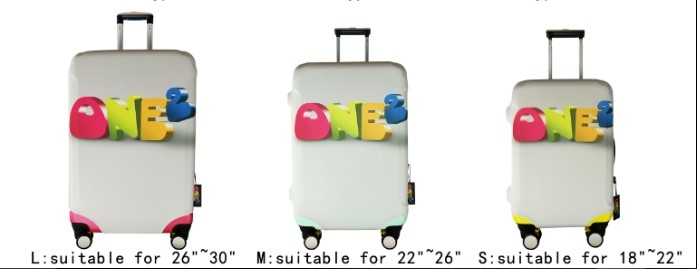 ONE2 Design fashion new baseball cheap polyester luggage cover