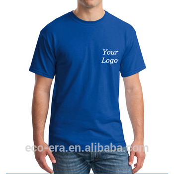 Custom T-shirt Printing Advertising Promotional Products Wholesale Blank T-shirts With Your Logo Brand Manufacture China