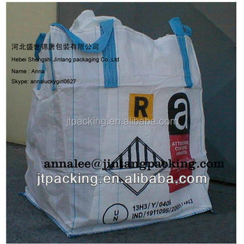 bulk bag for cement industry