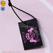 Sinicline new design hot sale paper jewelry brand tags