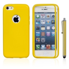 For Apple iPhone 5C Candy TPU Wrap Up Phone Case,Soft TPU Case For iPhone 5