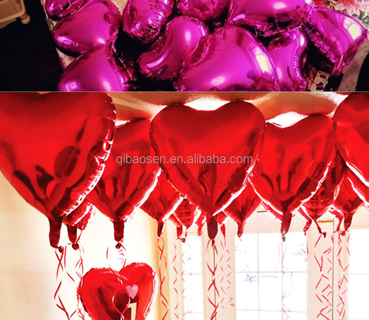 Wholesale Good quality Colourful Party Balloons Heart Shaped Latex Balloons