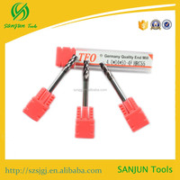 HRC55 Hard materials Carbid hard metal cutting tools with good quality
