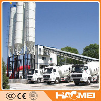 Alibaba recommended supplier HAOMEI HZS60 concrete batching plant indonesia