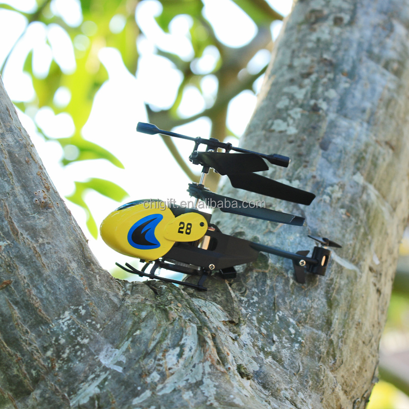 pocket helicopter toys 8cm Mini 3CH RC Helicopter with gyro
